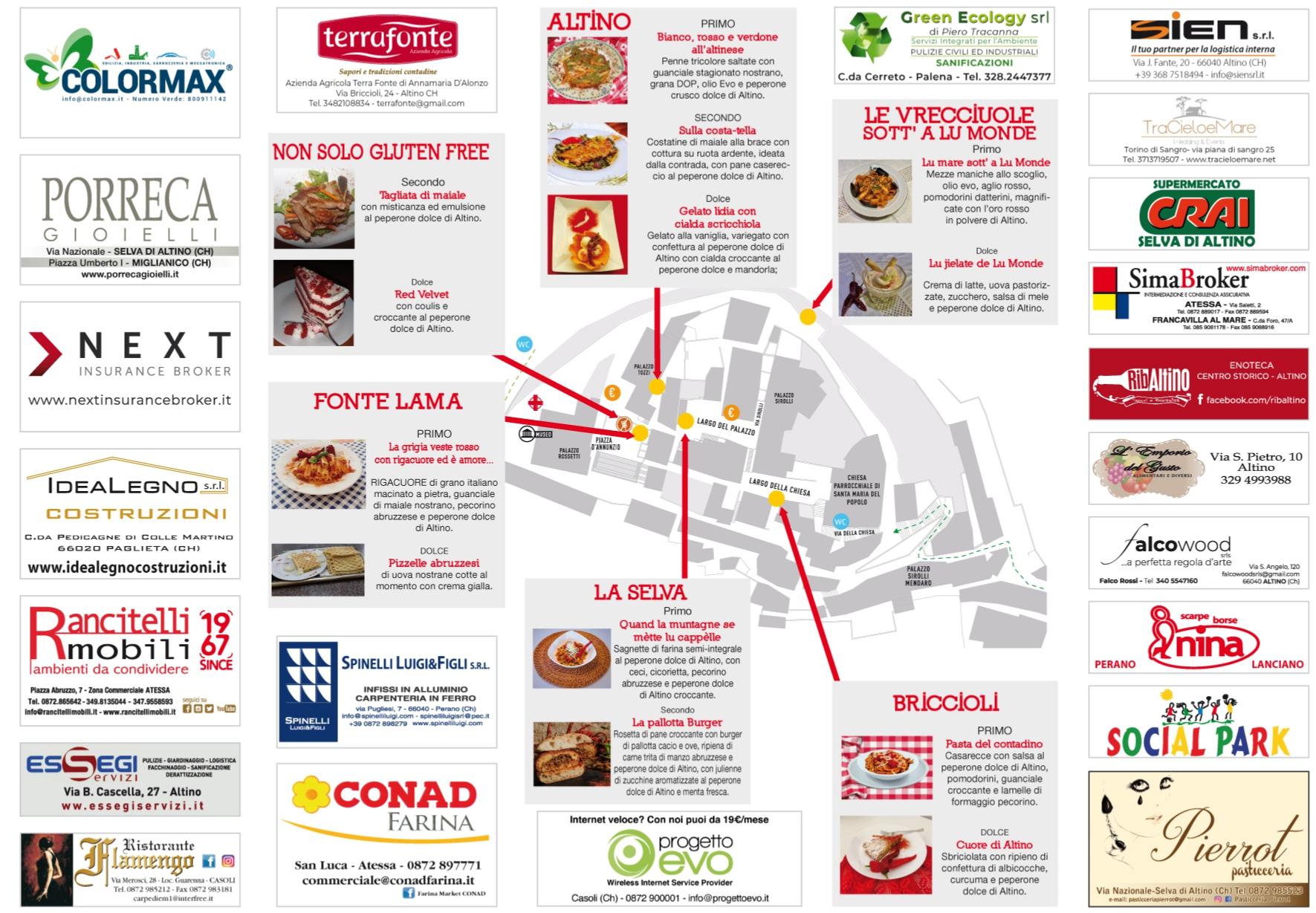 Locandina Festival del Peperone Dolce di Altino
